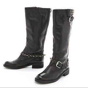 Sam Edelman Ashlyn tall studded boot NWT